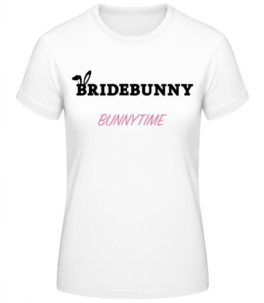 Bridebunny Bunnytime - Women's Basic T-Shirt - White - Vorn