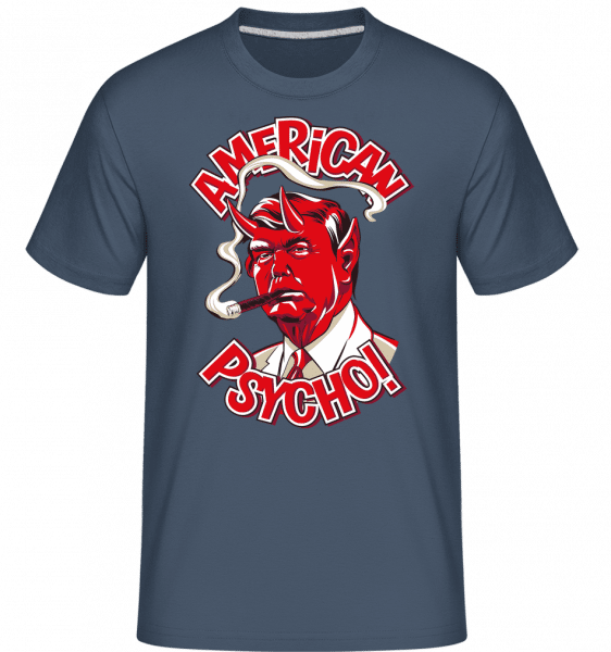 American Psycho -  Shirtinator Men's T-Shirt - Denim - Vorn