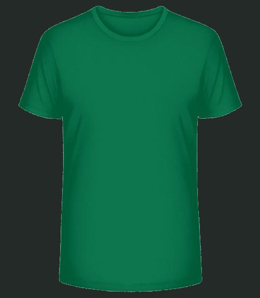 Männer Premium Bio T-Shirt Stanley Stella - Smaragdgrün - Vorn