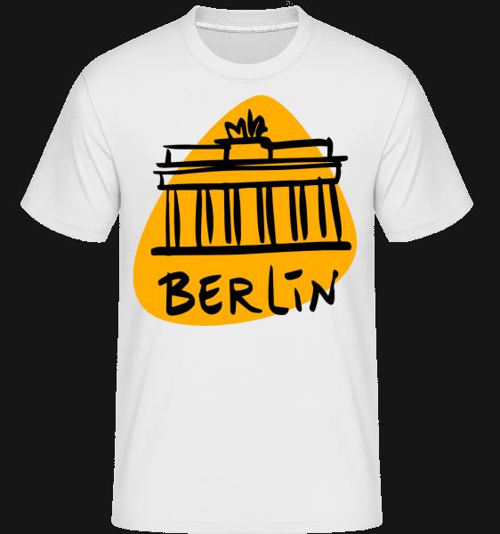 Berlin Sign -  Shirtinator Men's T-Shirt - White - Vorn