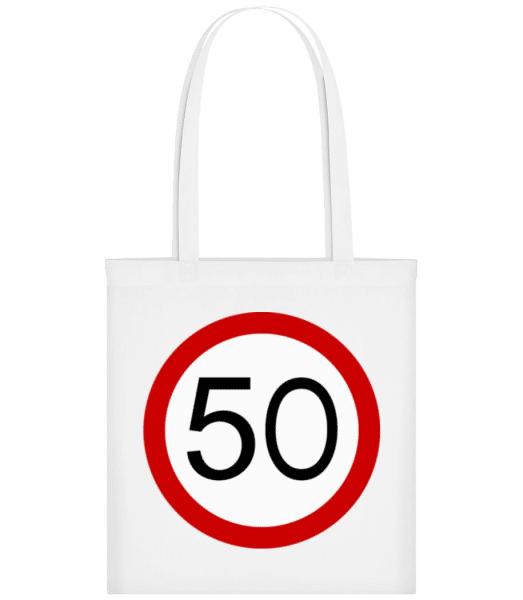 50 Symbol - Tote Bag - White - Front
