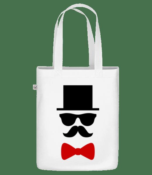 "Groom - Organic ""Earth Positive"" tote bag - White - Vorn"