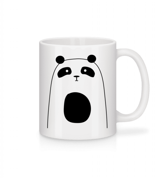 Cute Panda - Mug - White - Front