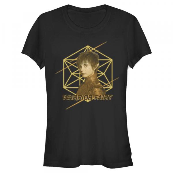 Warrior Fairy Holly - Disney Artemis Fowl - Women's T-Shirt - Black - Front