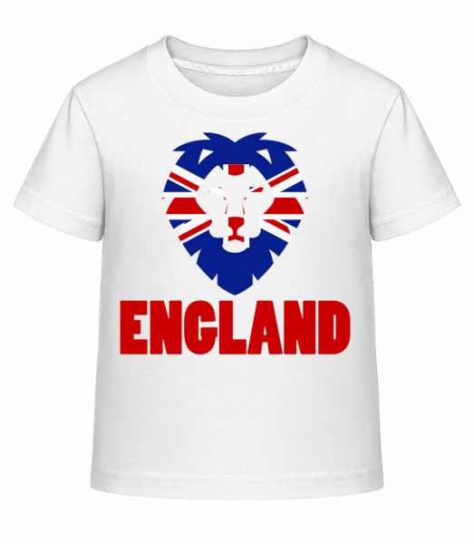 England Bear Flag - Kid's Shirtinator T-Shirt - White - Front