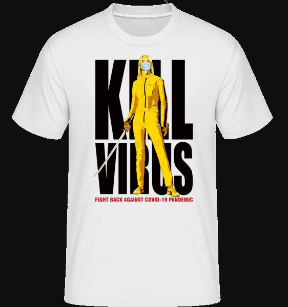 Kill Virus -  Shirtinator tričko pro pány - Bílá - Napřed