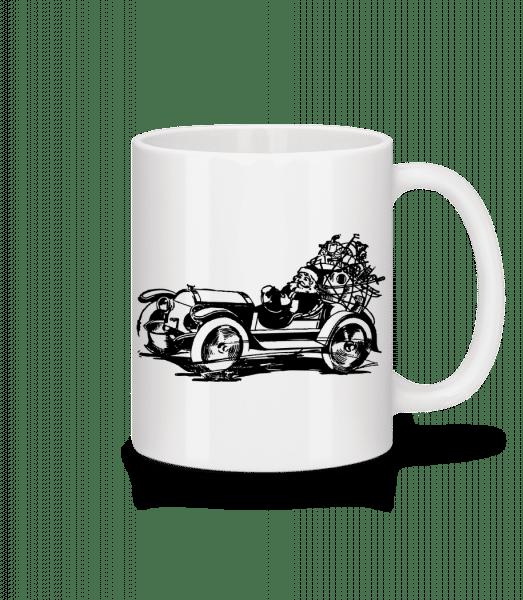 Christmas Oldtimer - Mug - White - Vorn