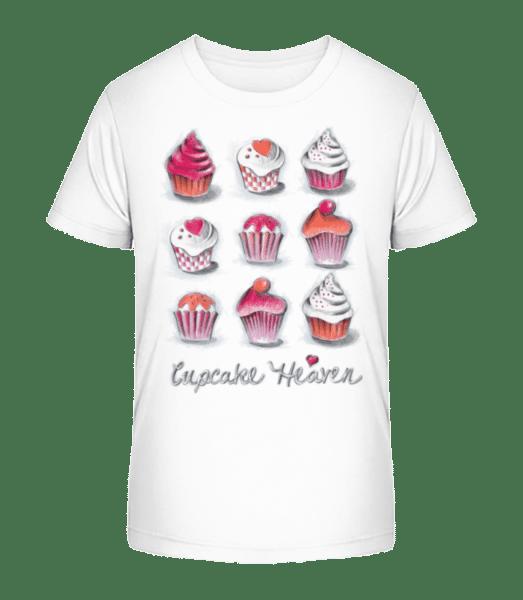 Cupcake Heaven - T-shirt bio Premium Enfant - Blanc - Devant