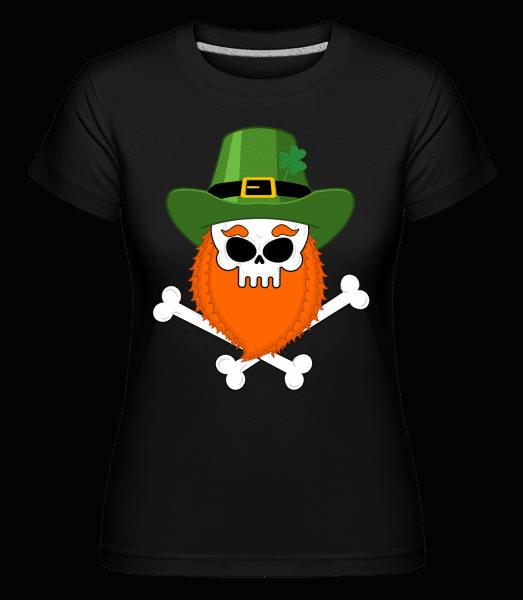 Irish Skull -  Shirtinator Women's T-Shirt - Black - Vorn