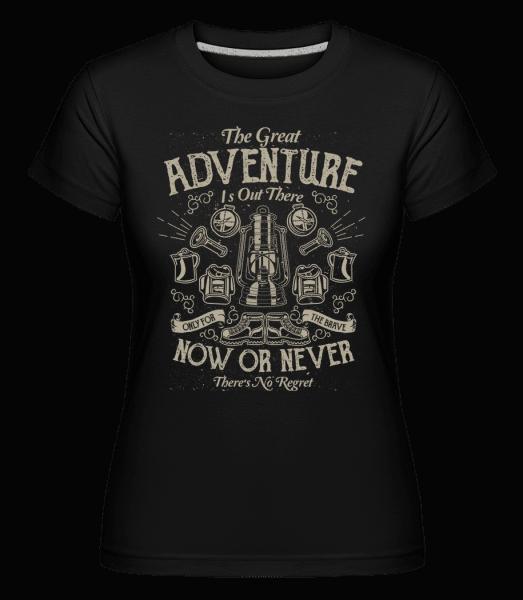 The Great Adventure -  Shirtinator Women's T-Shirt - Black - Vorn