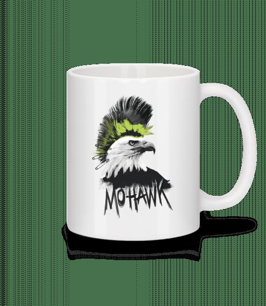 Mohawk - Tasse - Weiß - Vorn