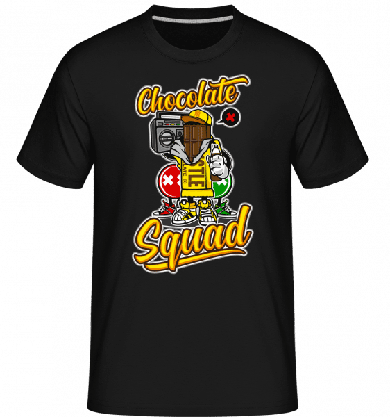 Chocolate Squad -  Shirtinator Men's T-Shirt - Black - Vorn