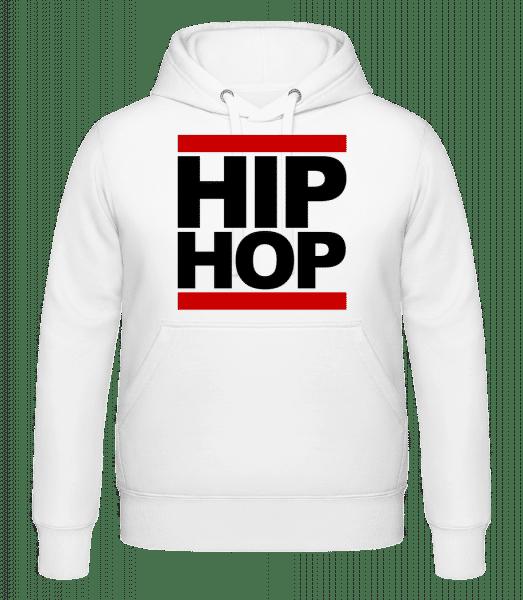 Hip Hop Logo - Hoodie - White - Vorn
