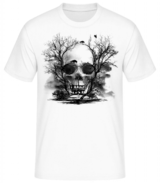 Death Trees - Men's Basic T-Shirt - White - Vorn