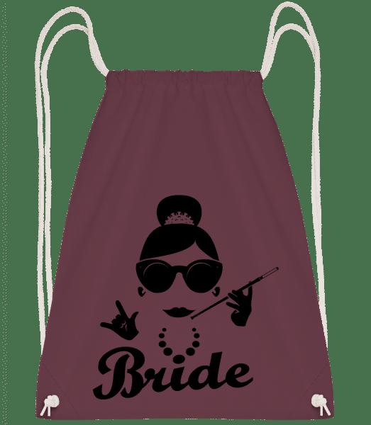 Bride - Turnbeutel - Bordeaux - Vorn