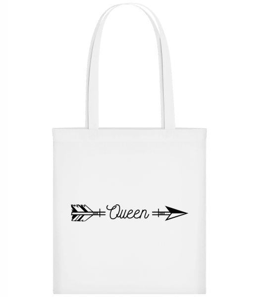 Queen Arrow - Carrier Bag - White - Vorn