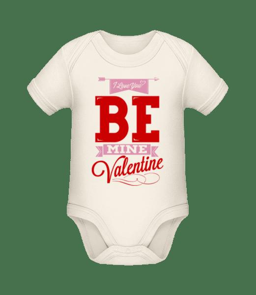 Be Mine Valentine - Bio body pro děti - Krémová - Napřed