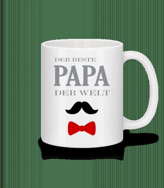 Der Beste Papa Der Welt - Tasse - Weiß - Vorn