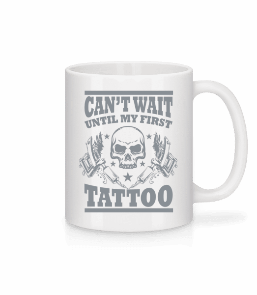 Can't Wait For My First - Mug - White - Front