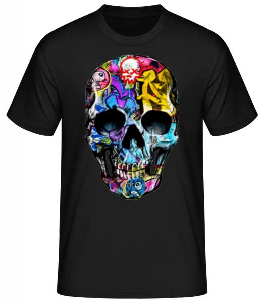 Graffiti Dead - Men's Basic T-Shirt - Black - Front