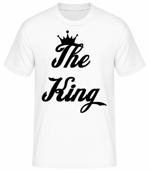 The King - Basic T-shirt - White - Vorn