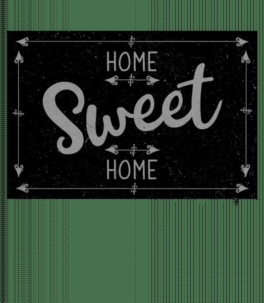 Home Sweet Home - Doormat - White - Vorn
