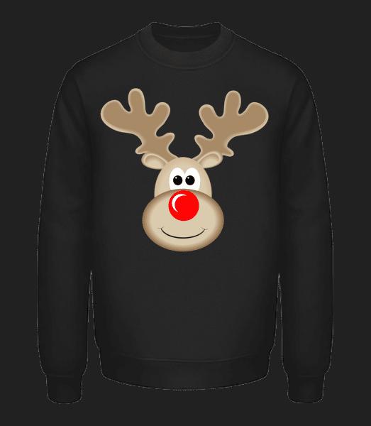 Reindeer Logo - Unisex Sweatshirt - Black - Vorn