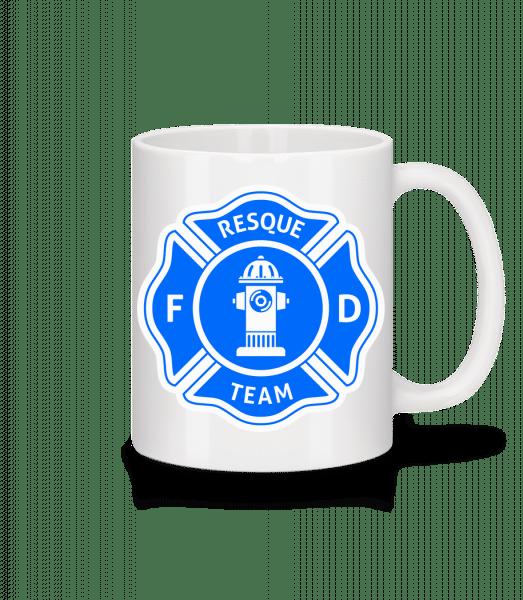 Resque Team - Mug - White - Vorn