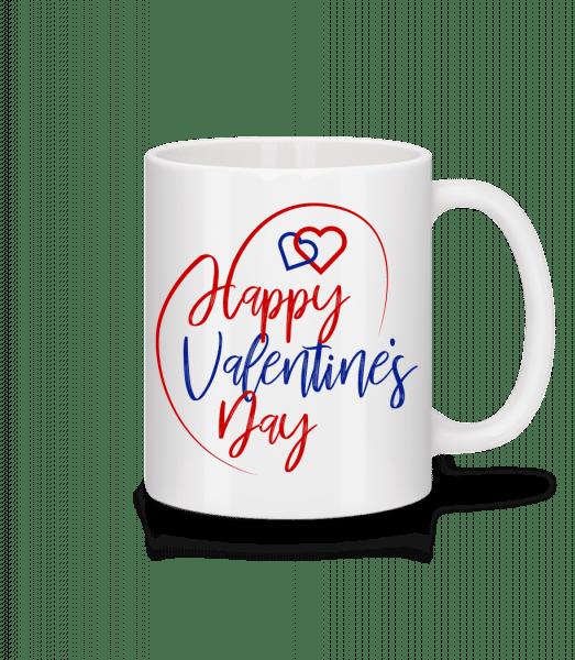 Happy Valentines Day - Mug - White - Front