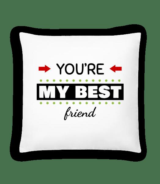 You're My Best Friend - Cushion - White - Vorn