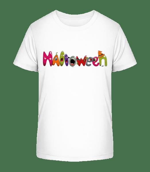 Halloween - Kid's Premium Bio T-Shirt - White - Vorn