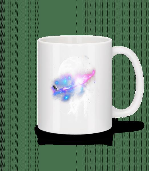 Astronaut And Galaxy - Mug - White - Vorn
