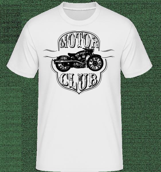Motorclub Icon - Shirtinator Männer T-Shirt - Weiß - Vorn