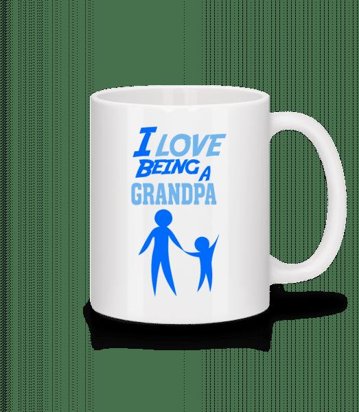 I Love To Be A Grandpa - Mug - White - Front