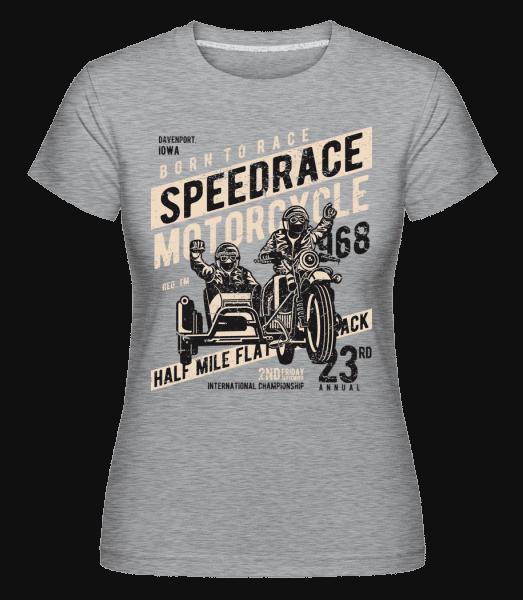 Speedrace -  Shirtinator Women's T-Shirt - Heather grey - Vorn