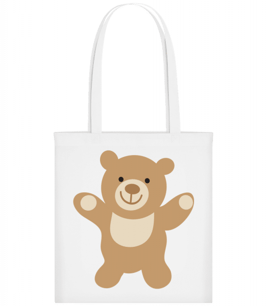 Kids Comic - Bear - Carrier Bag - White - Vorn