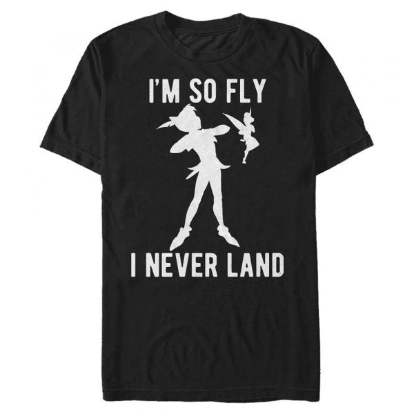 So very fly Peter Pan & Tink - Disney Peter Pan - Men's T-Shirt - Black - Front