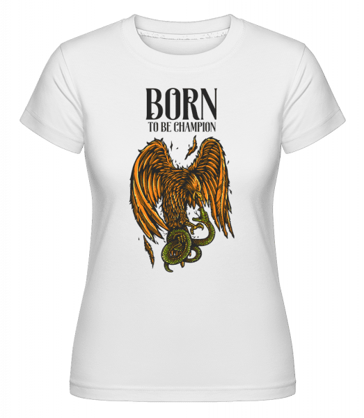 Eagle Versus -  Shirtinator Women's T-Shirt - White - Vorn