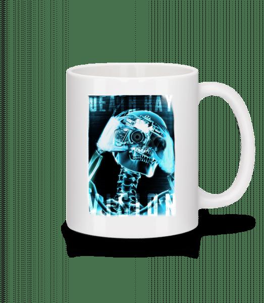 X-Ray Skeleton - Mug - White - Vorn