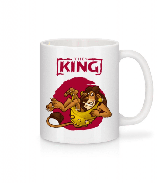 The King - Mug - White - Front