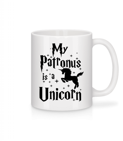 My Patronus Is A Unicorn - Mug - White - Vorn