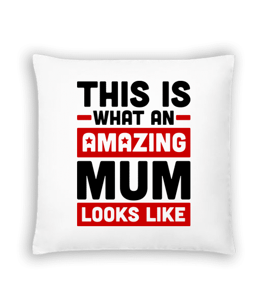 Amazing Mum - Cushion - White - Vorn