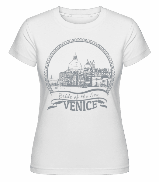 Venice Italy -  Shirtinator Women's T-Shirt - White - Vorn