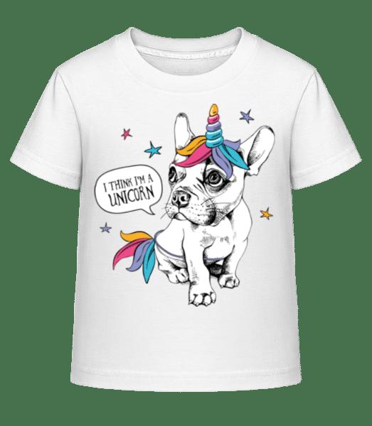 I Am A Unicorn - Kid's Shirtinator T-Shirt - White - Vorn