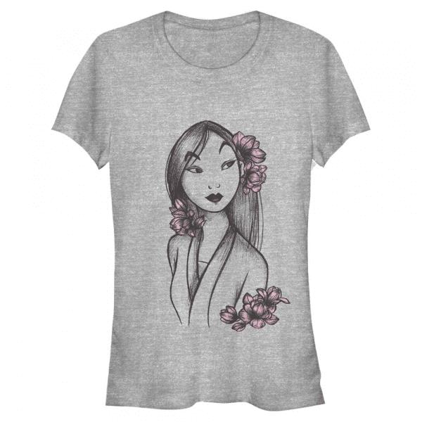 Reflection - Disney Mulan - Women's T-Shirt - Heather grey - Front