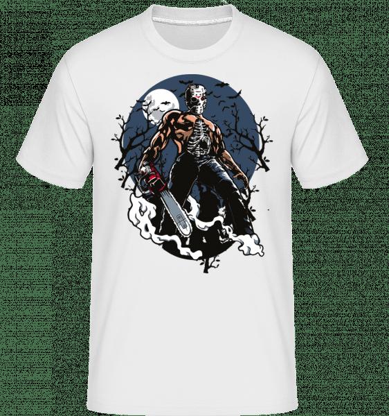 Evil Killer -  Shirtinator tričko pre pánov - Biela - Predné