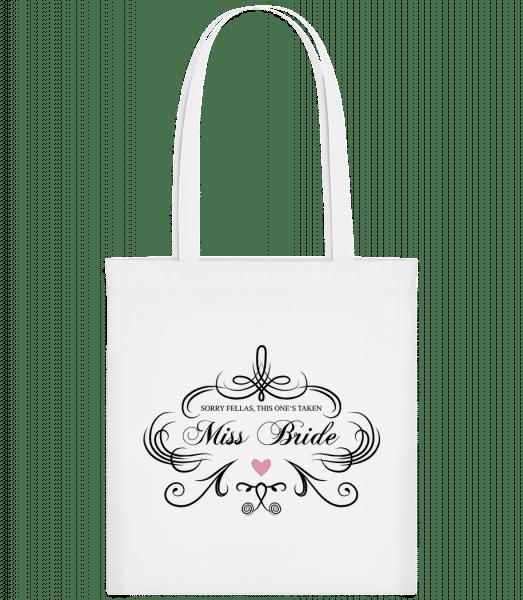 Miss Bride - Carrier Bag - White - Vorn