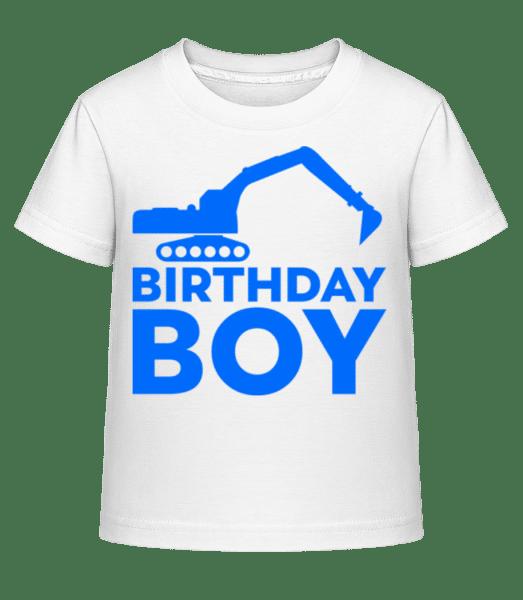 Birthday Boy - Kid's Shirtinator T-Shirt - White - Front