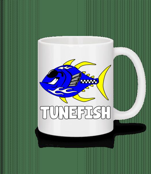 Tunefisch - Tasse - Weiß - Vorn
