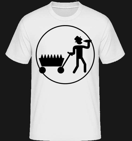 Father's Day Icon -  Shirtinator tričko pro pány - Bílá - Napřed
